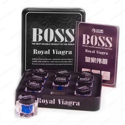 Купить Босс Роял Виагра  Быстрое усиление потенции  Босс Роял Виагра