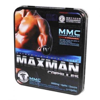 Купить таблетки MaxMan 4