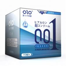 Ультратонкие презервативы OLO Classic c гиалуроновой кислотой, 10 шт