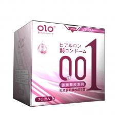 Ультратонкие презервативы OLO Double Pleasure с точечной поверхностью, 10 шт