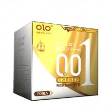 Ультратонкие презервативы OLO Long Lasting пролонгирующие, 10 шт