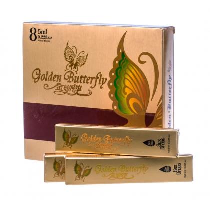 Купить женский возбудитель в каплях Золотая бабочка