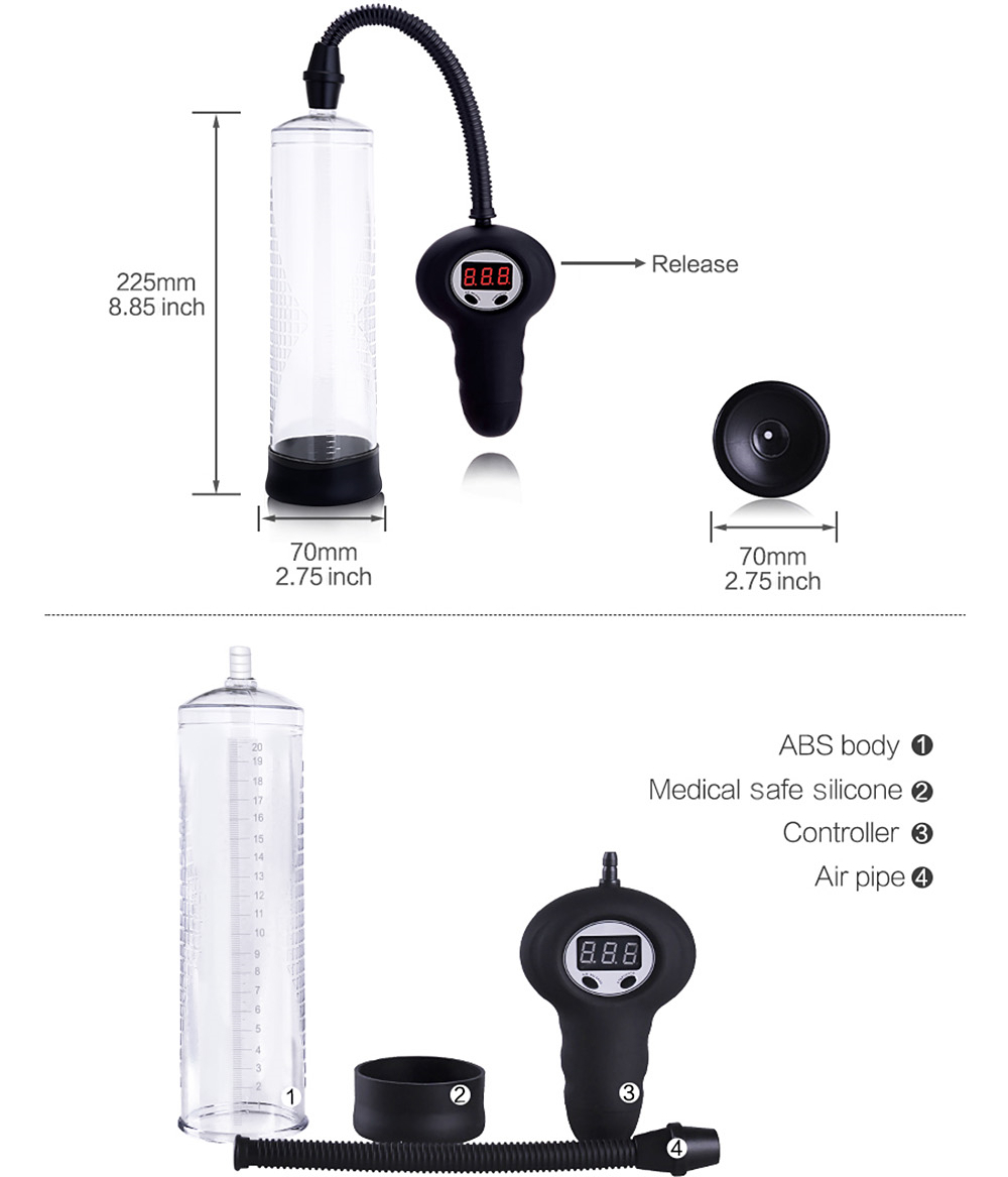 Автоматическая мужская вакуумная помпа «Automatic Power Pump»