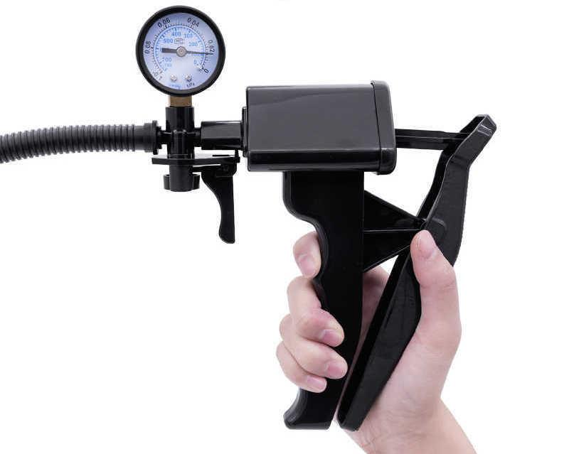 Вакууммная помпа с монометром «The Perfect Pump Guage» внешний вид