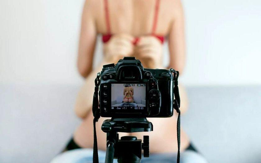 Позирование перед камерой