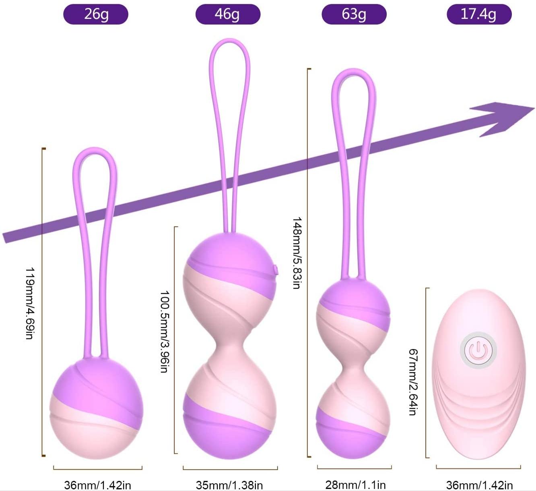 Силиконовые виброшарики Кегеля Y-Love «Vibrating Love Egg»