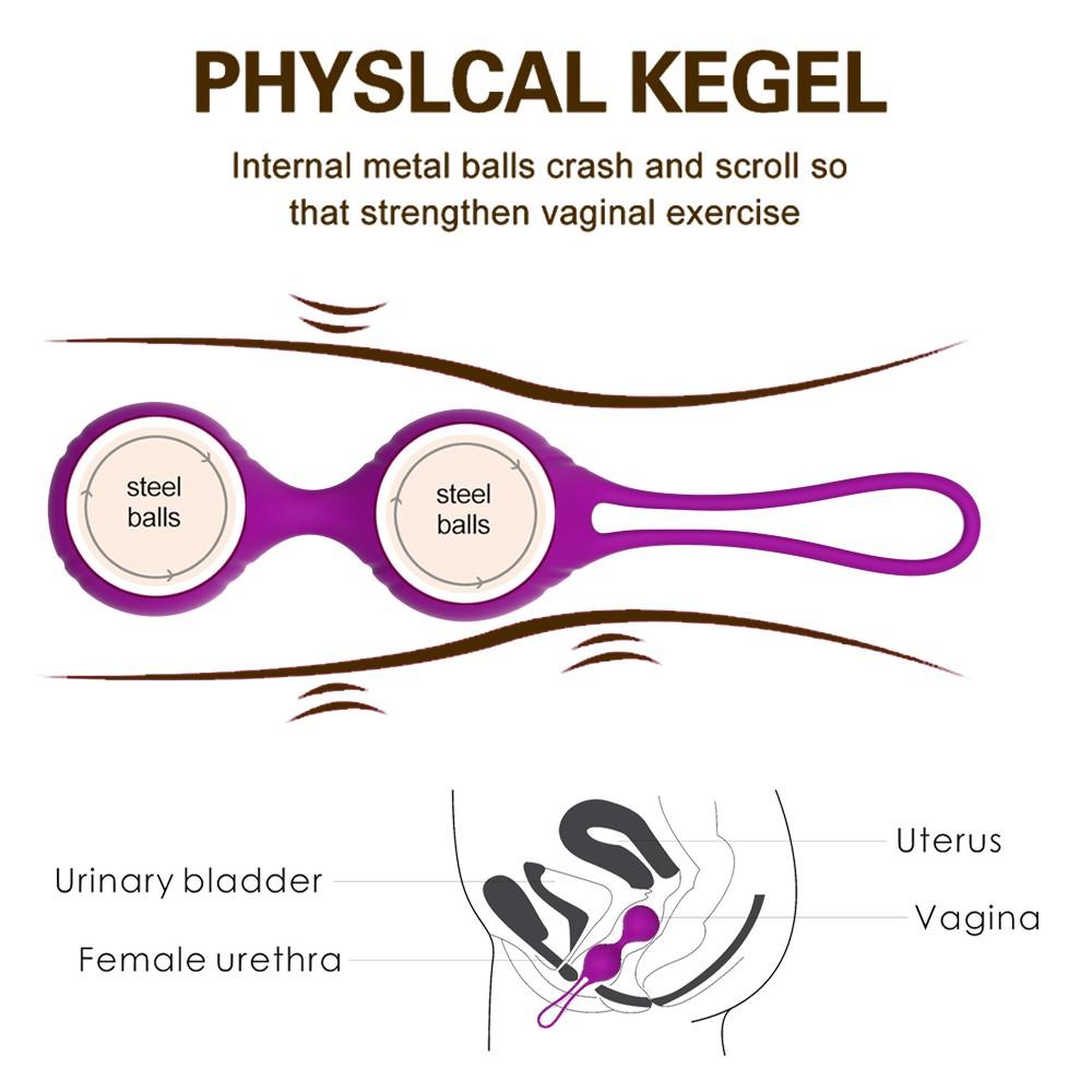 Вагинальные шарики для упражнений Кегеля