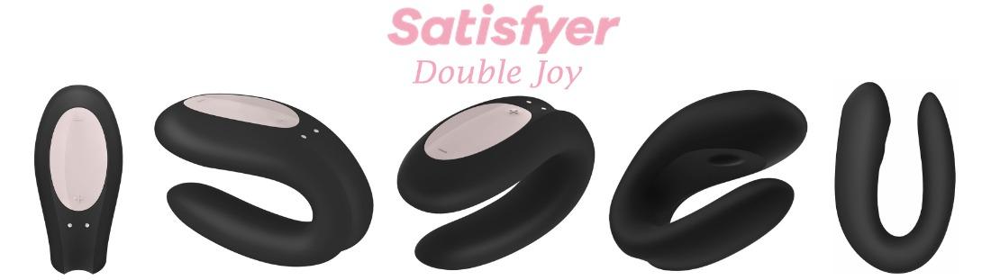 Дистанционный вибратор для пар Satisfyer Double Joy