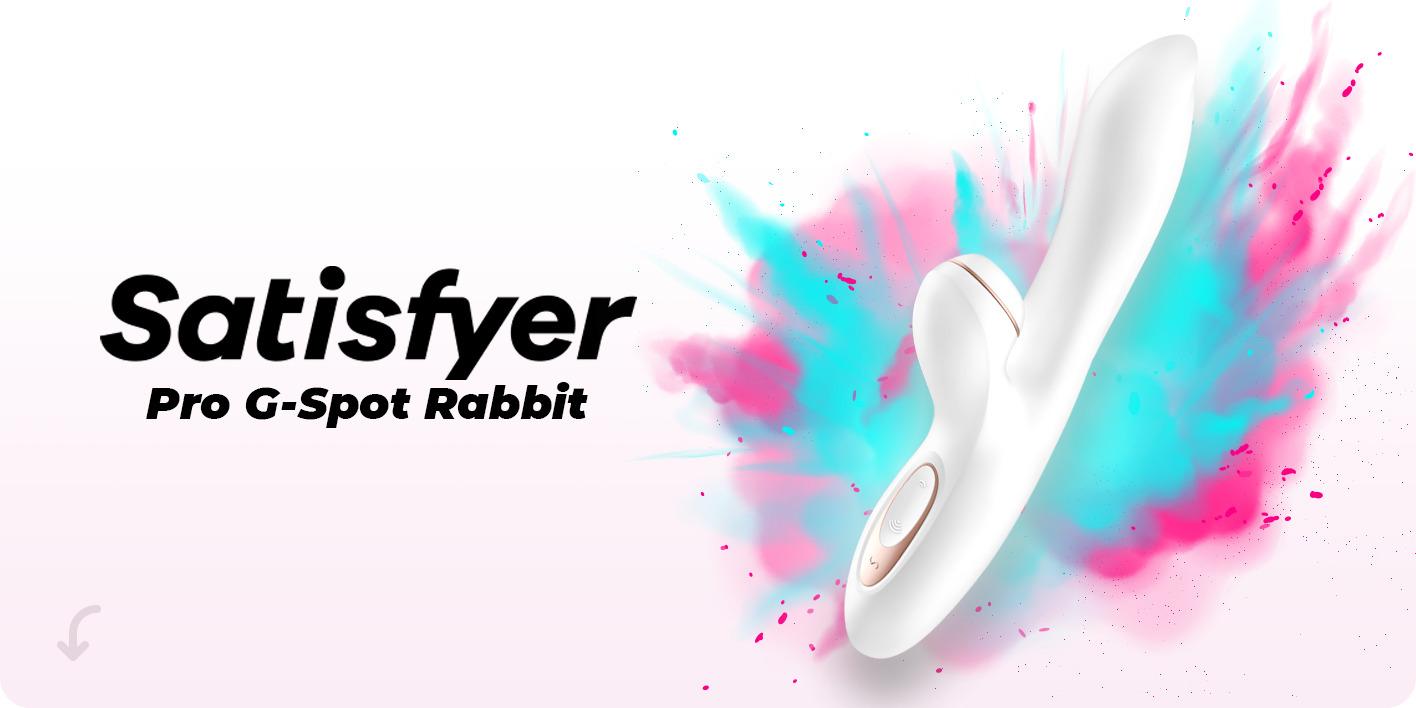 Вибратор Satisfyer Pro G-Spot Rabbit