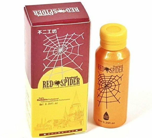 Red spider красный паук