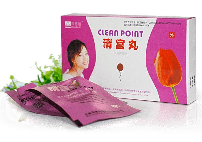 Фитотампоны Clean Point упаковка